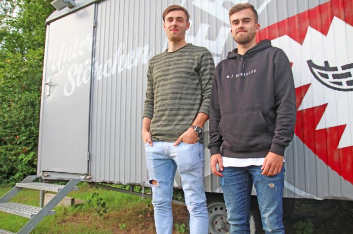 Tjorve Mohr und Felix Niebergall spielen in der U23 Mannschaft von Holstein Kiel